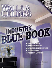 Walls & Ceilings Magazine