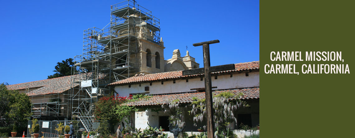 Carmel Mission – Carmel, California