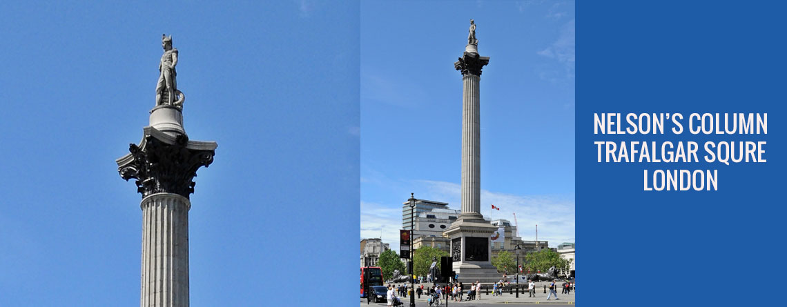 Nelson's Column, Trafalgar Square, London