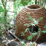 Earth Chapel, Hollywood Hills, California - Earth Bag Structure