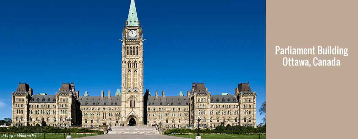 Parliament Buildings – Ottawa, Canada