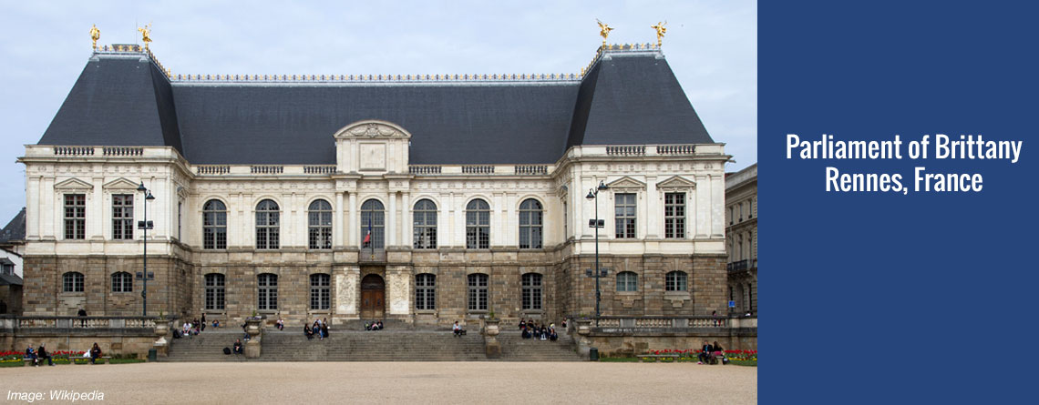 Parliament of Brittany – Rennes, France